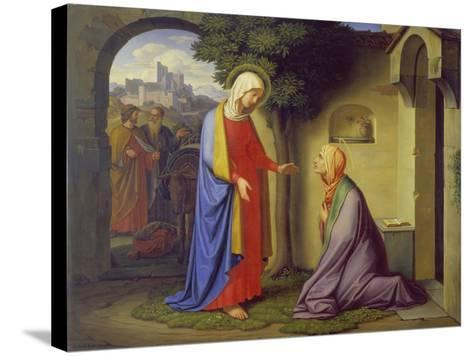 The Visitation, 1829-Heinrich Maria Hess-Stretched Canvas Print