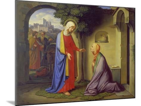 The Visitation, 1829-Heinrich Maria Hess-Mounted Giclee Print