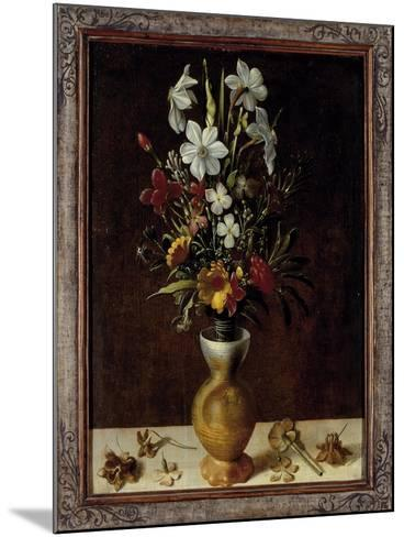 Bouquet of Flowers in a Vase-Ludger Tom Ring-Mounted Giclee Print