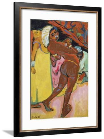 Black Dancer, 1905-Ernst Ludwig Kirchner-Framed Art Print