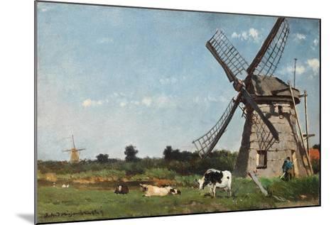 The Mill, Ca. 1873-Jan Hendrik Weissenbruch-Mounted Giclee Print