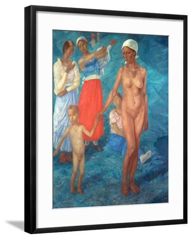 Morning, 1917-Kosjma Ssergej Petroff-Wodkin-Framed Art Print
