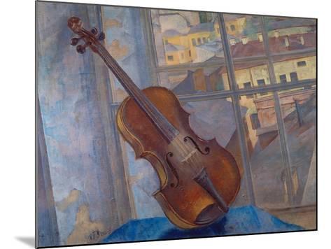 The Violin, 1918-Kosjma Ssergej Petroff-Wodkin-Mounted Giclee Print