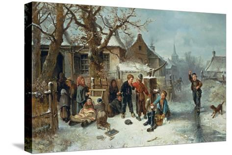 Pleasures of Winter-Mari Ten Kate-Stretched Canvas Print