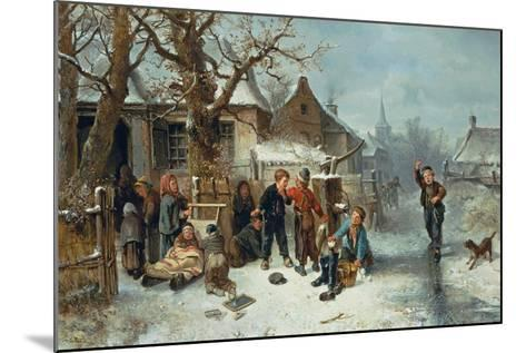 Pleasures of Winter-Mari Ten Kate-Mounted Giclee Print