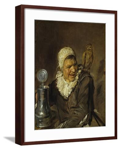 Malle Babbe, 1629-30-Frans Hals-Framed Art Print