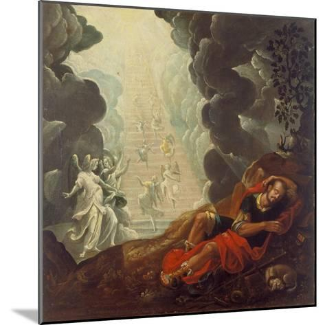 The Dream of Jacob's Ladder, 1596; Aus Der Dreifaltigkeitskirche Rotshueben-Johann Twenger-Mounted Giclee Print