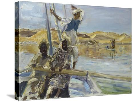 Pirates, 1914-Max Slevogt-Stretched Canvas Print