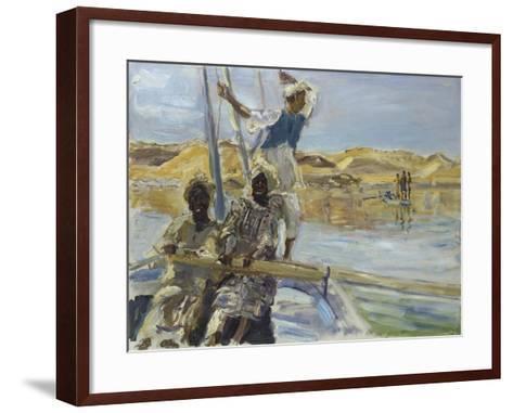 Pirates, 1914-Max Slevogt-Framed Art Print
