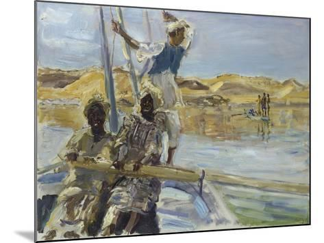 Pirates, 1914-Max Slevogt-Mounted Giclee Print