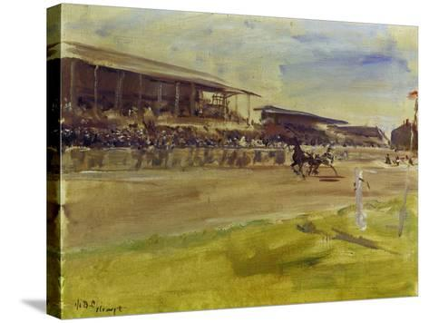 Horse Racing Track in Ruhleben, 1920-Max Slevogt-Stretched Canvas Print