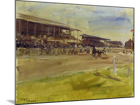 Horse Racing Track in Ruhleben, 1920-Max Slevogt-Mounted Giclee Print
