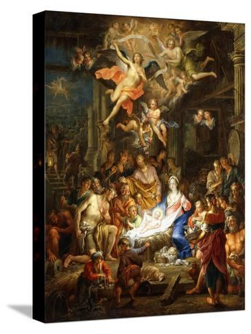 The Nativity, 1741-Franz Christoph Janneck-Stretched Canvas Print