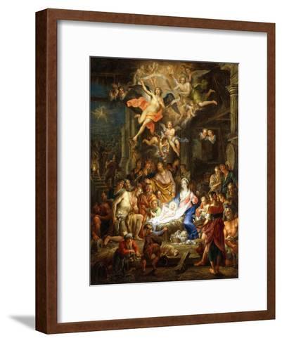 The Nativity, 1741-Franz Christoph Janneck-Framed Art Print