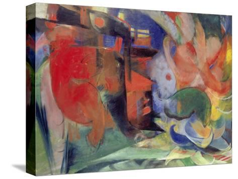 Abstract Forms II, 1914-Franz Marc-Stretched Canvas Print
