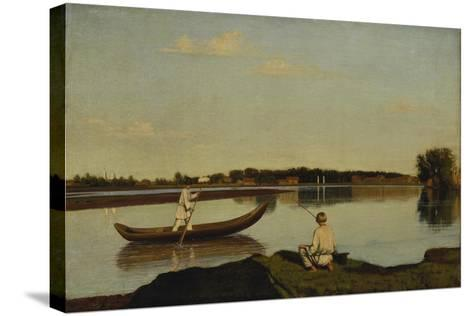 The Fishermen, after 1845-Grigorij Wassiljew Soroko-Stretched Canvas Print