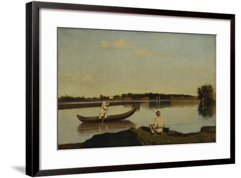 The Fishermen, after 1845-Grigorij Wassiljew Soroko-Framed Art Print