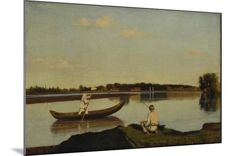 The Fishermen, after 1845-Grigorij Wassiljew Soroko-Mounted Giclee Print