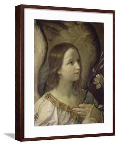 The Annunciation-Guido Reni-Framed Art Print