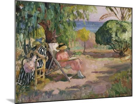 A Summer's Day-Henri Lebasque-Mounted Giclee Print