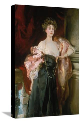 Lady Helen Vincent, Viscountess of Abernon, 1904-John Singer Sargent-Stretched Canvas Print