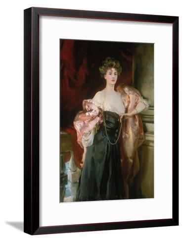 Lady Helen Vincent, Viscountess of Abernon, 1904-John Singer Sargent-Framed Art Print