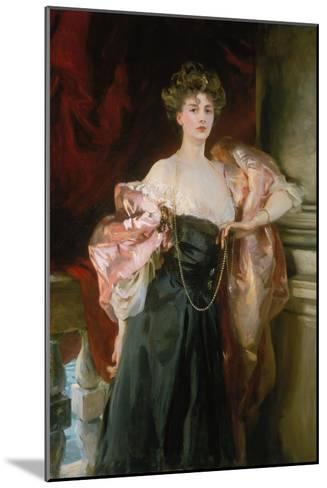Lady Helen Vincent, Viscountess of Abernon, 1904-John Singer Sargent-Mounted Giclee Print