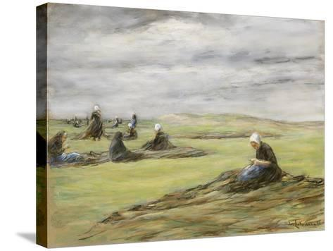 Repairing the Nets, 1898-Max Liebermann-Stretched Canvas Print