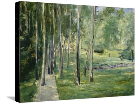 House at Lake Wannsee, 1919-24-Max Liebermann-Stretched Canvas Print