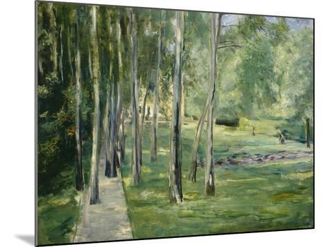 House at Lake Wannsee, 1919-24-Max Liebermann-Mounted Giclee Print