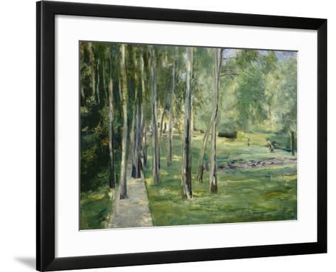 House at Lake Wannsee, 1919-24-Max Liebermann-Framed Art Print