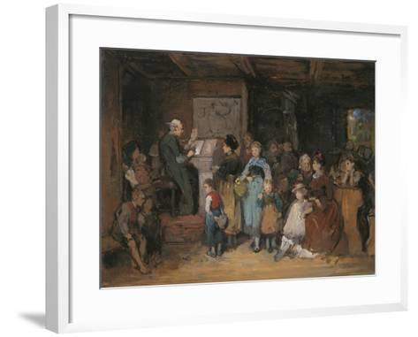 The Registration-Franz Von Defregger-Framed Art Print