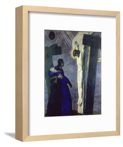 Crucifixion, 1913-Franz von Stuck-Framed Art Print