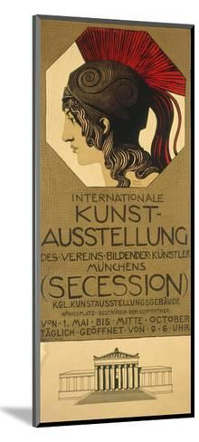 Poster for an Exhibition of Secessionist Art, Ca. 1898-Franz von Stuck-Mounted Giclee Print