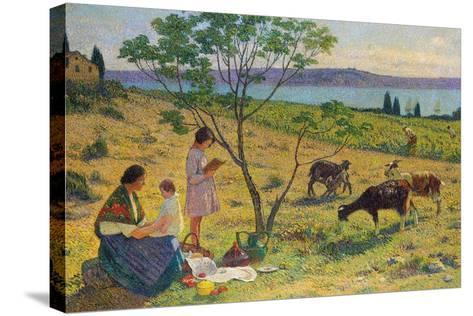 Pastoral (Bucolique), Ca. 1932-Henri Martin-Stretched Canvas Print