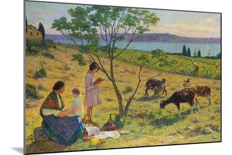 Pastoral (Bucolique), Ca. 1932-Henri Martin-Mounted Giclee Print