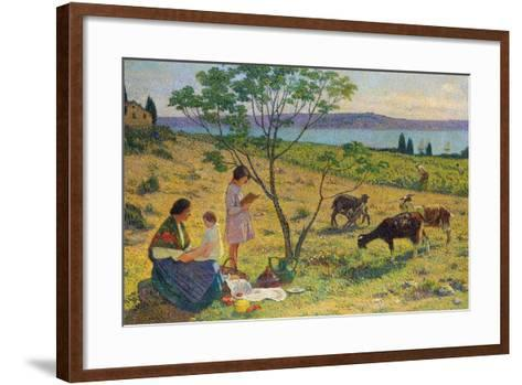 Pastoral (Bucolique), Ca. 1932-Henri Martin-Framed Art Print