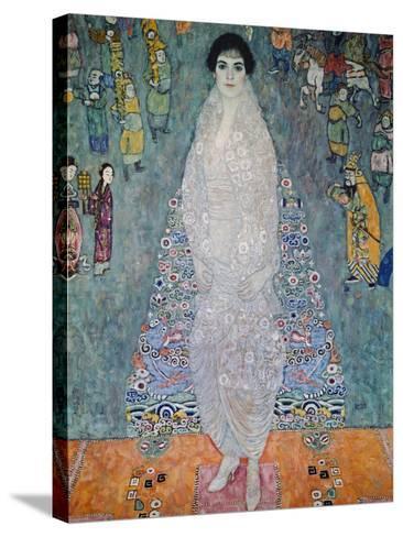 Portrait of Baroness Elisabeth Bachofen-Echt, 1915-16-Gustav Klimt-Stretched Canvas Print