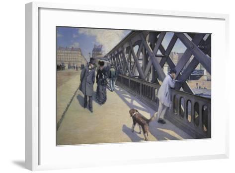 The Europe Bridge, 1876-Gustave Caillebotte-Framed Art Print