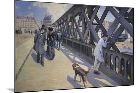 The Europe Bridge, 1876-Gustave Caillebotte-Mounted Giclee Print
