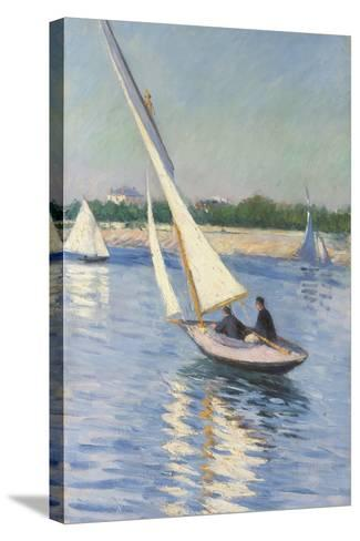 Sailing Boat at Argenteuil, 1893-Gustave Caillebotte-Stretched Canvas Print