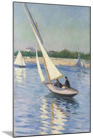 Sailing Boat at Argenteuil, 1893-Gustave Caillebotte-Mounted Giclee Print