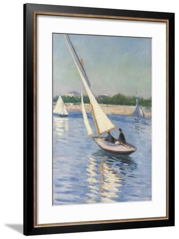 Sailing Boat at Argenteuil, 1893-Gustave Caillebotte-Framed Art Print