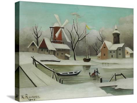 Winter (L'Hiver), 1907-Henri Rousseau-Stretched Canvas Print