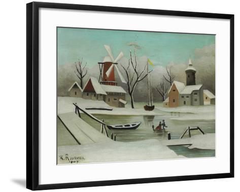 Winter (L'Hiver), 1907-Henri Rousseau-Framed Art Print