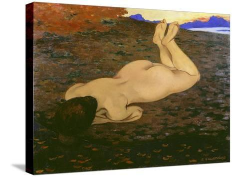The Source, 1897-Felix Vallotton-Stretched Canvas Print