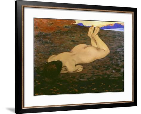 The Source, 1897-Felix Vallotton-Framed Art Print