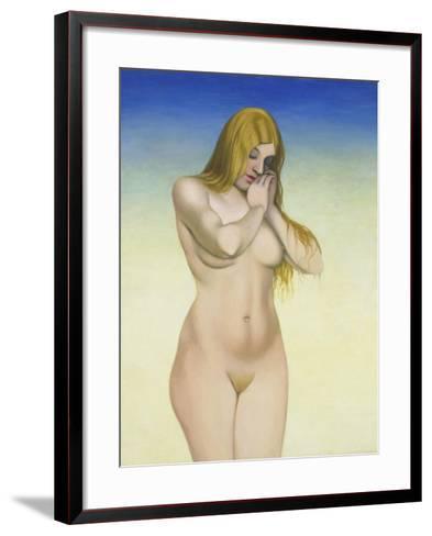 Blond Nude, 1921-Felix Vallotton-Framed Art Print