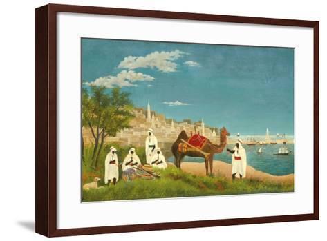 View of Algiers (Paysage D'Alger), 1880-Henri Rousseau-Framed Art Print
