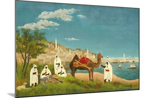 View of Algiers (Paysage D'Alger), 1880-Henri Rousseau-Mounted Giclee Print